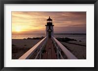Brant Point Lighthouse, Nantucket, Massachusetts Fine Art Print