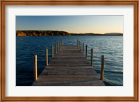 View of  a Lake, New Hampshire Fine Art Print