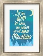 She Will Move Mountains 2 Fine Art Print