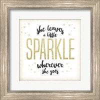 She Leaves a Sparkle 1 Fine Art Print