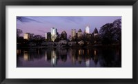 Atlanta at Dusk Fine Art Print