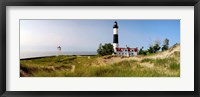 Big Sable Point Lighthouse, Lake Michigan Fine Art Print
