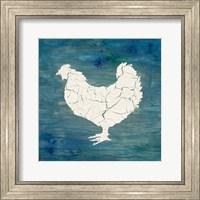 Farm Chicken Fine Art Print
