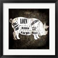 Butcher Shop I Fine Art Print