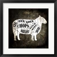 Butcher Shop IV Fine Art Print