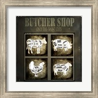 Butcher Shop V Fine Art Print