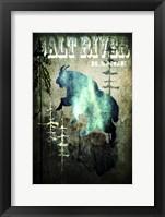 Wind River III Fine Art Print