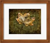 Metallic Leaf 1 Fine Art Print