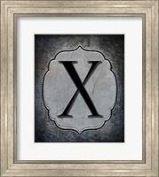 Letter X Fine Art Print