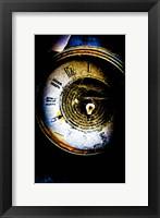 Garage Clock Fine Art Print