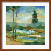 Early Spring Landscape I Fine Art Print