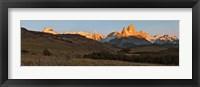 Sunrise over Mt Fitzroy, Patagonia, Argentina Fine Art Print