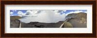 Masaya Volcano Erupting Smoke, Nicaragua Fine Art Print