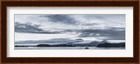 Fishing Boat and Mt Edgecumbe, Sitka, Southeast Alaska Fine Art Print