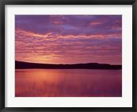 Sunrise over Grand Lake Matagamon in Baxter State Park, Maine Fine Art Print