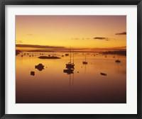 Southwest Harbor Before Sunrise, Mt. Desert Island, Maine Fine Art Print
