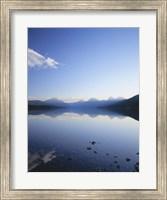 Lake McDonald and the Rocky Mountains, Glacier National Park, Montana Fine Art Print