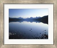 Lake McDonald and the Rocky Mountains, Montana Fine Art Print