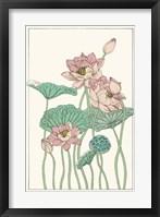 Botanical Gloriosa Lotus I Fine Art Print