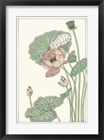 Botanical Gloriosa Lotus II Fine Art Print