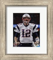 Tom Brady Super Bowl LI 2017 Fine Art Print
