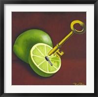 Key Lime Pi Fine Art Print