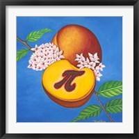 Peach Pi Fine Art Print