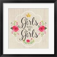 Girls Will Be Girls Fine Art Print