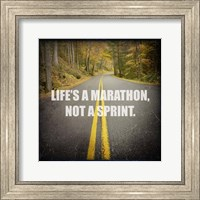 Life's a Mararthon Fine Art Print
