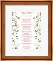 Decorative Desiderata Fine Art Print