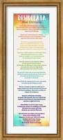 Colorful Desiderata Fine Art Print