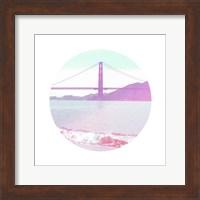 Pastel Bridge Fine Art Print