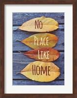 No Place Like Home Leaves Fine Art Print