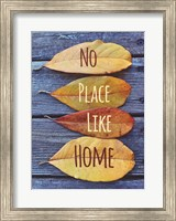No Place Like Home Leaves Fine Art Print