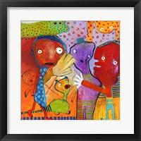 Colourfull Mars Men II Fine Art Print