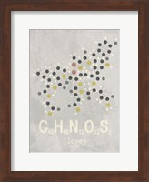 Molecule Love - Light Grey Fine Art Print