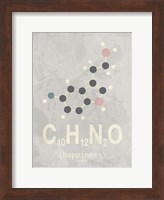 Molecule Happiennes-Medium Grey Fine Art Print