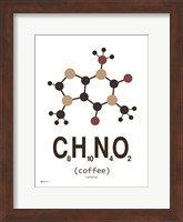 Molecule Coffee-with Milk Fine Art Print