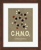 Molecule Chocolate Fine Art Print