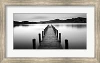 Lake Pier Fine Art Print