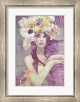 Flower Lady Fine Art Print