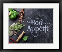 Bon Appetit Herbs and Spices Fine Art Print