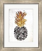 Golden Mandala Pineapple Fine Art Print