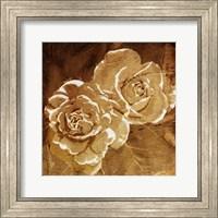 Loving Gold Roses Fine Art Print