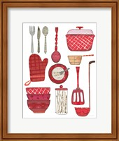 Cook Kitchen II Fine Art Print