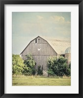 Late Summer Barn II Crop Fine Art Print
