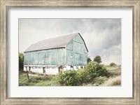 Late Summer Barn I Crop Fine Art Print