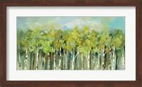 April Tree Trops Fine Art Print