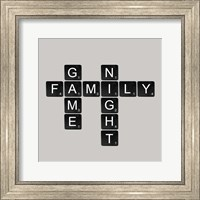 Game Night - Black Fine Art Print