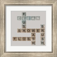 Bathroom Letters Fine Art Print